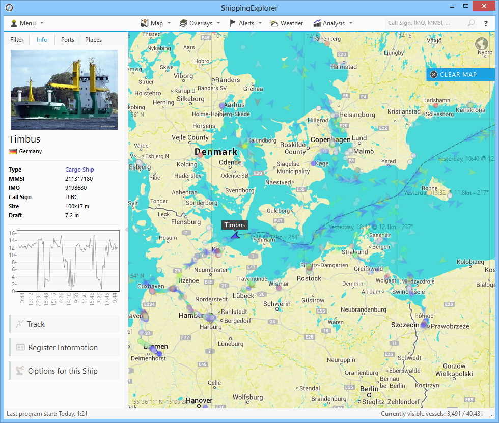 ShippingExplorer - Live Vessel Tracking